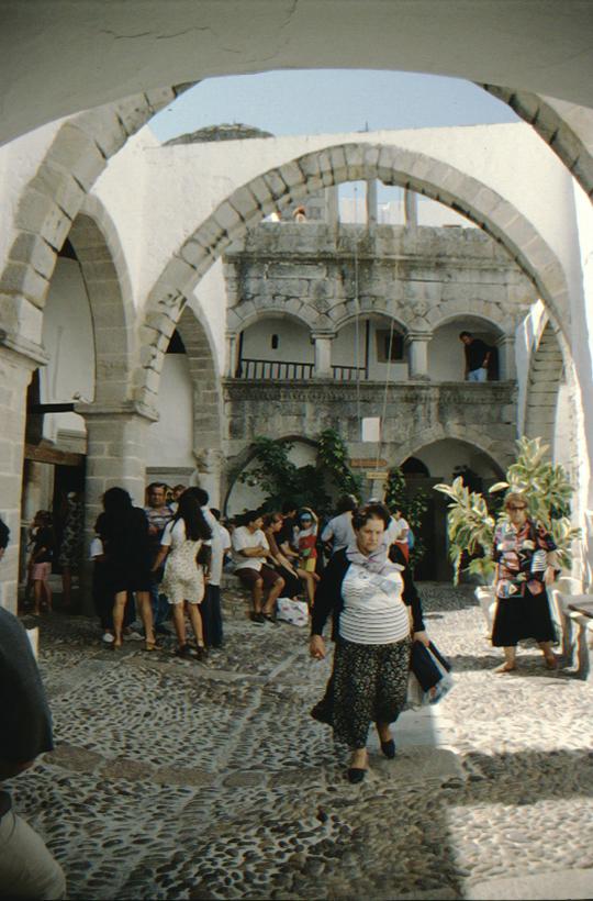Patmos, Johanneskloster, Besucher