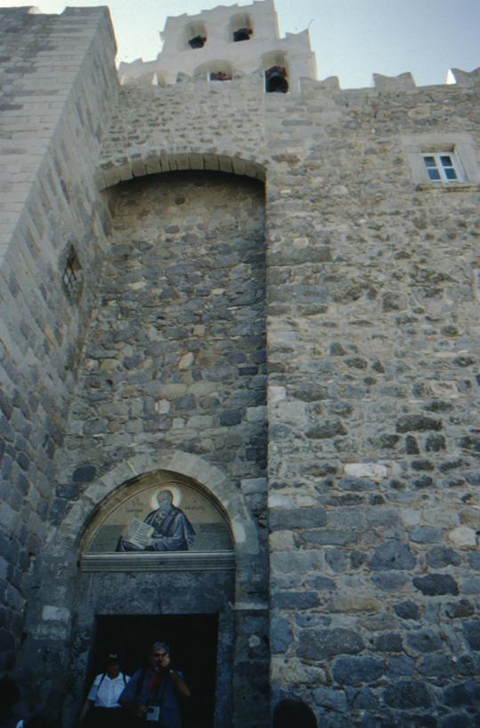 Patmos, Johanneskloster