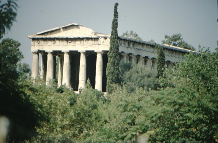 Athen, antiker Tempel