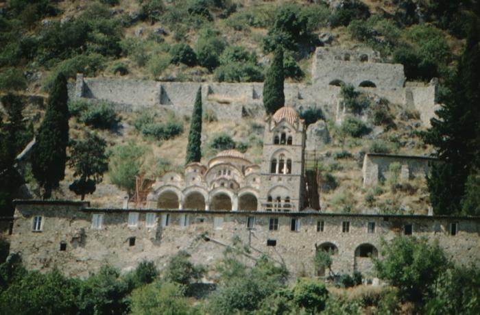 griechisches Mittelalter: Mystras