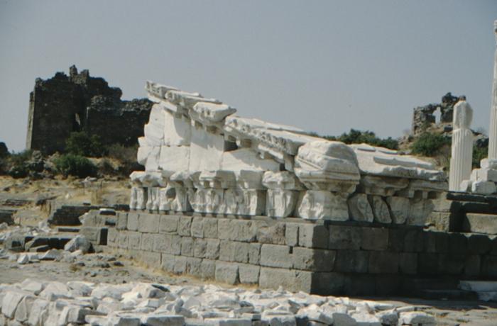 Pergamon, Tempel, Detail