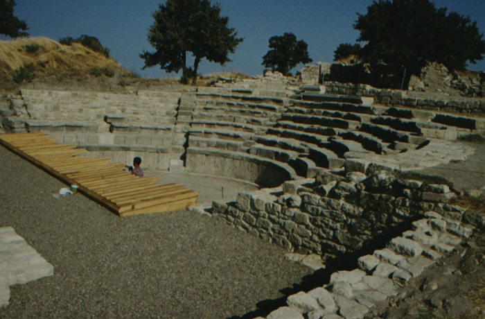 Troja, römisches Theater