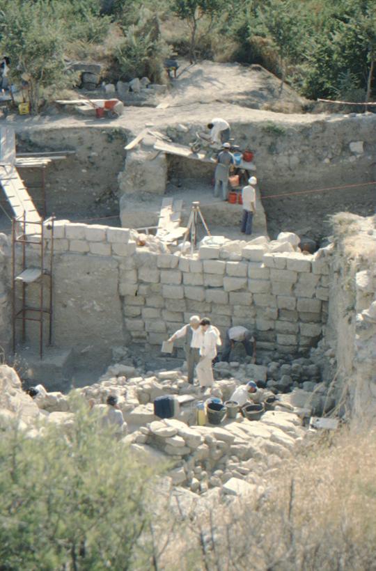 Troja, Ausgrabung
