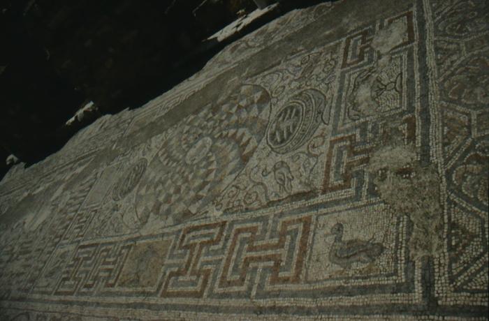 Ephesus, Fußbodenmosaik