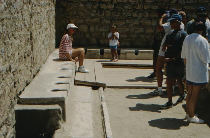 Ephesus, antike Toilette