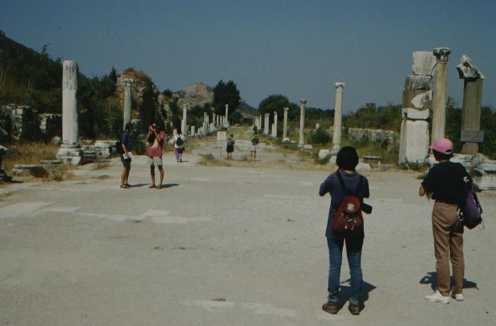 Ephesus, Säulenallee