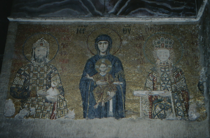 Istanbul, Hagia Sophia, Maria