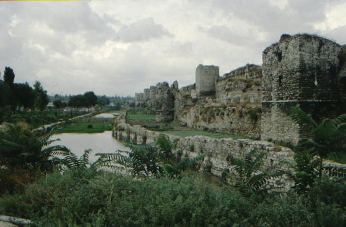Istanbul, theodosianische Landmauer
