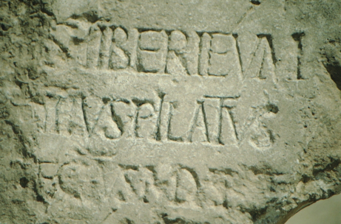 Caesarea am Meer, Pilatus-Inschrift