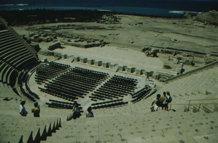 Caesarea Maritima, römisches Theater
