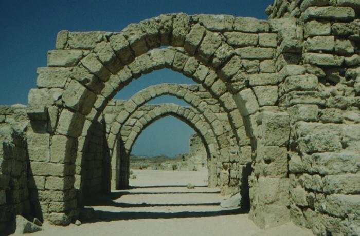 Caesarea am Meer, Torbögen