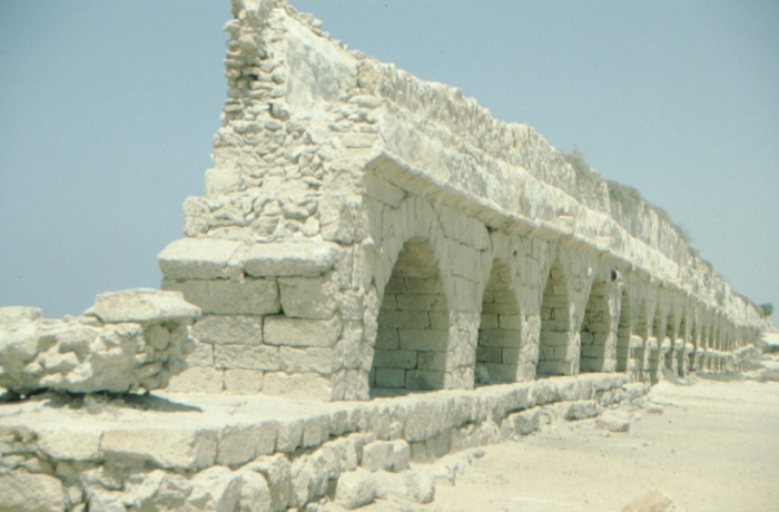 Caesarea Maritima, Wasserleitung