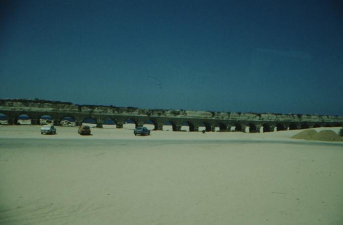 Caesarea am Meer, Wasserleitung