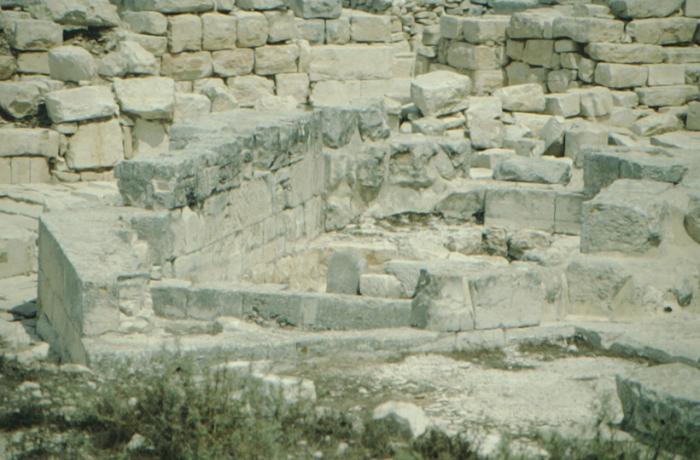 Garizim, antiker samaritanischer Tempel