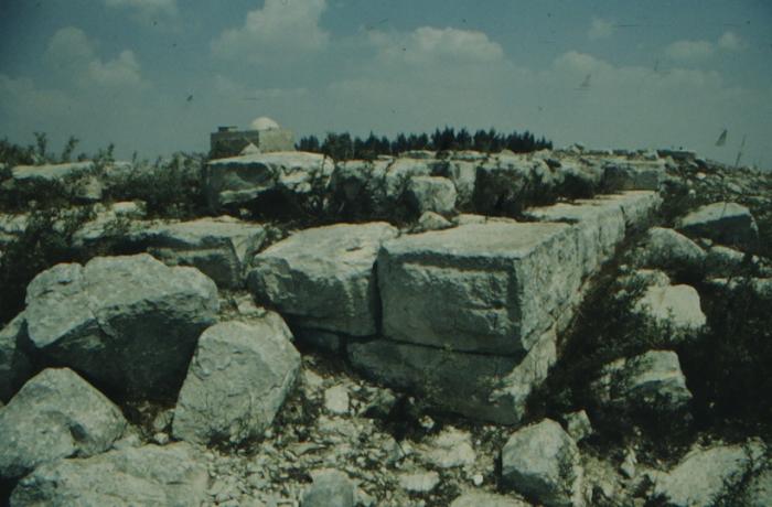 Garizim, antike Ruinen, Detail