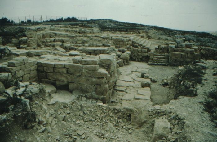 Garizim, antike Ruinen