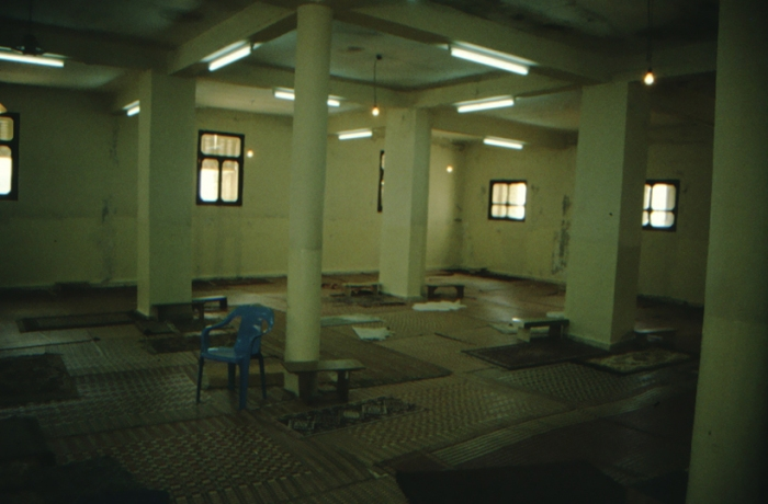 Garizim, samaritanische Moschee, Versammlungsraum