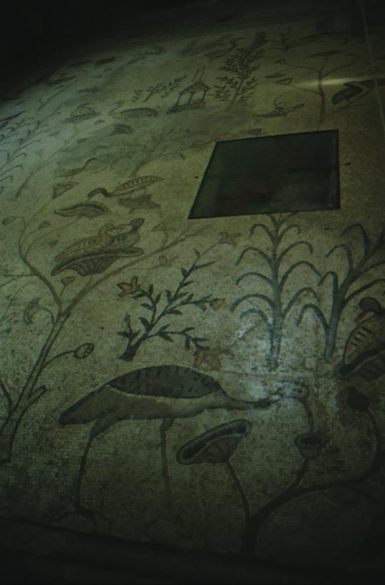 Kapernaum, Brotvermehrungskirche, Mosaik