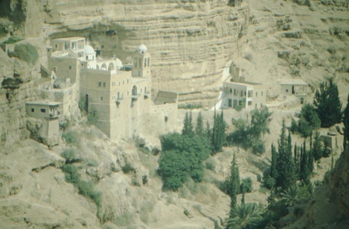 Israel, St. Georgskloster