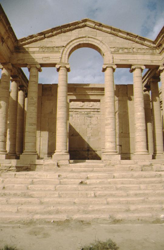 Hatra, Tempel