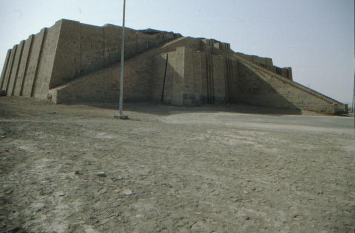 Ur, Tempelturm, Rekonstruktion