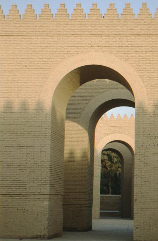 Babylon, Palast, Rekonstruktion