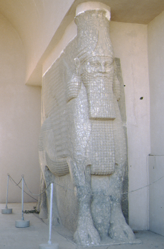 Ninive, antike Statue