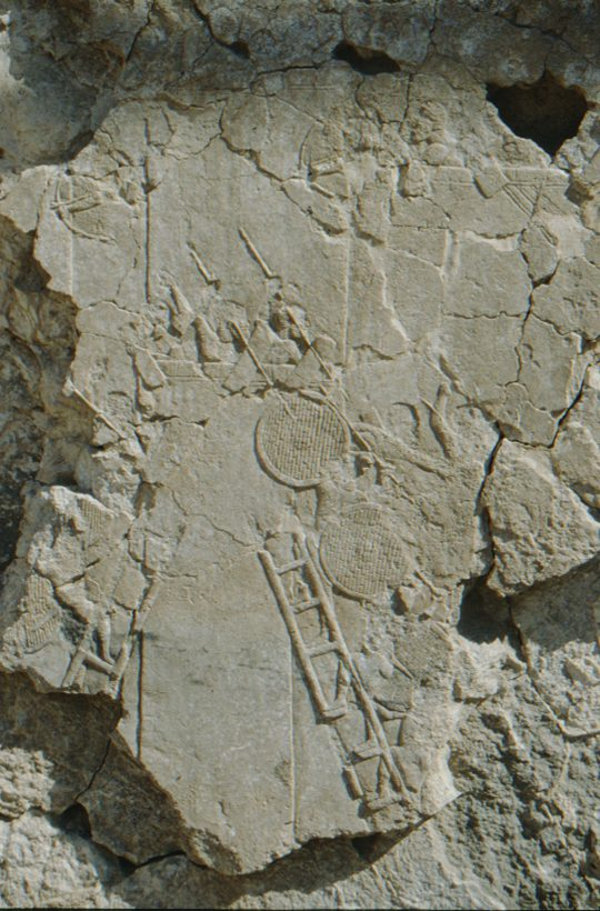 Ninive, antikes Relief