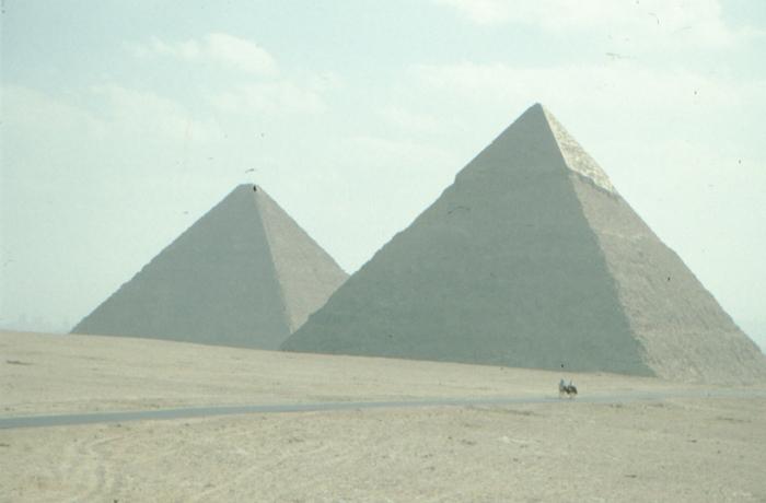 Pyramiden Cheops, Chefren