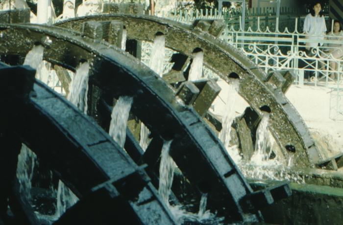 el Faijum, Wasserrad