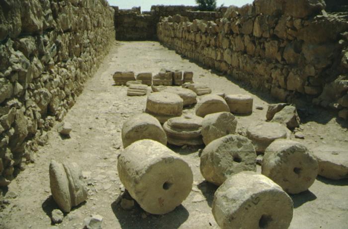 Masada, Säulentrommeln