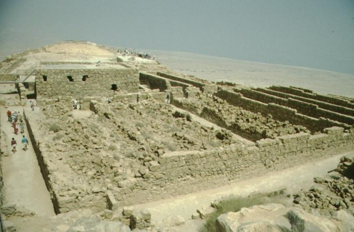 Masada, Ruinen