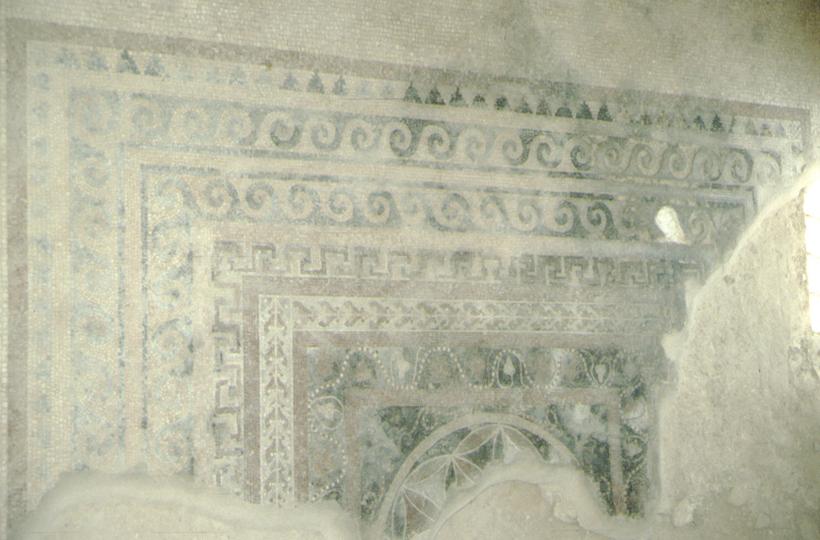 Masada, Mosaik