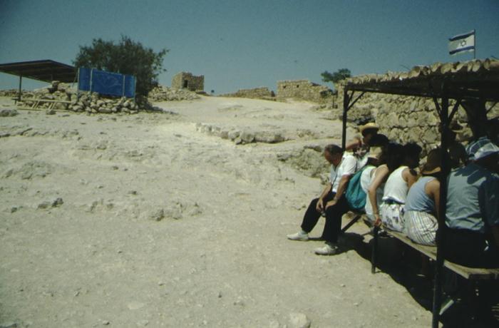 Masada, Touristen