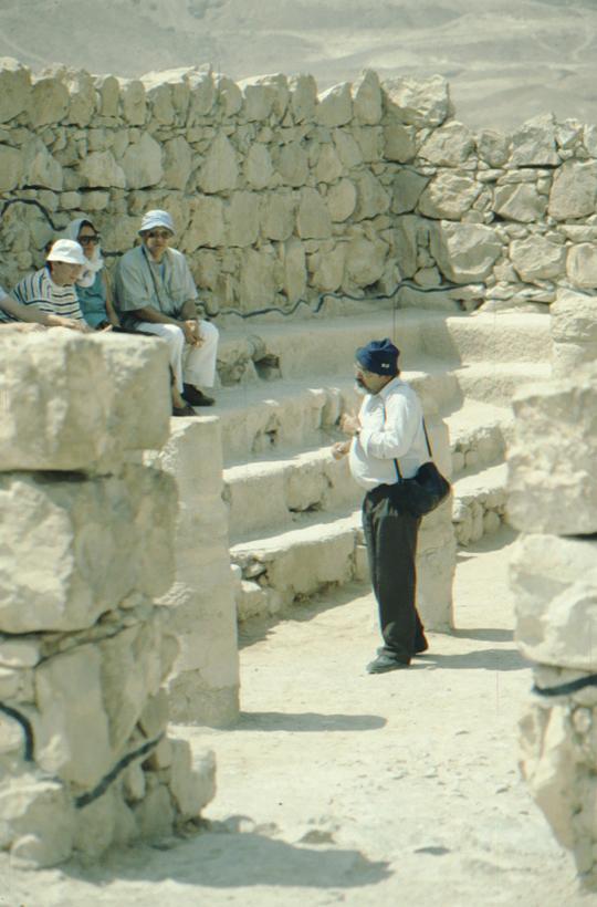 Masada, antike Gebäude