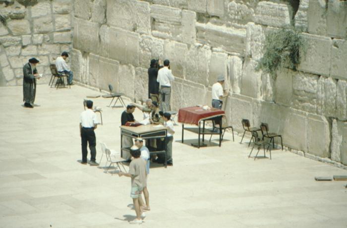 Jerusalem, Klagemauer, jüdischer Ritus