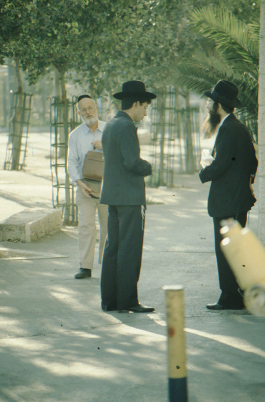 Jerusalem, orthodoxe Juden