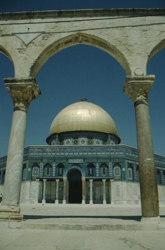 Jerusalem, Felsendom (Omar-Moschee)
