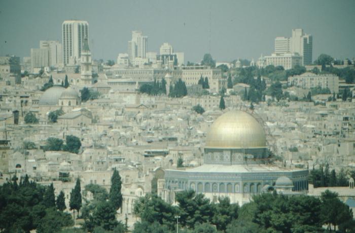 Jerusalem, Blick vom Ölberg