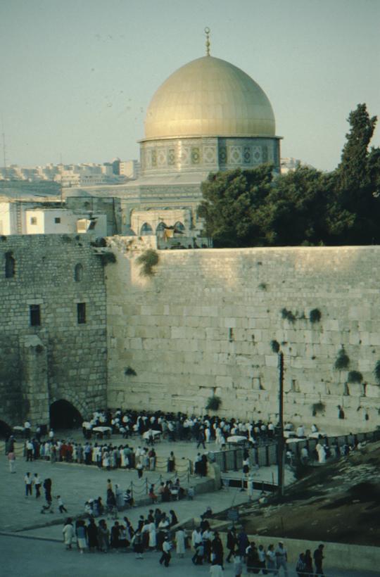 Jerusalem, Felsendom, Klagemauer