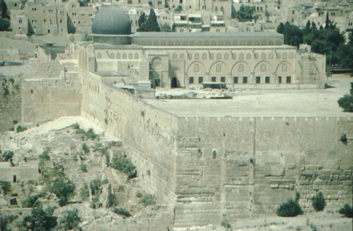 Jerusalem, El Aksa-Moschee