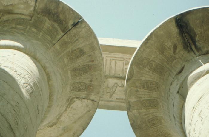 Karnak, großer Säulensaal