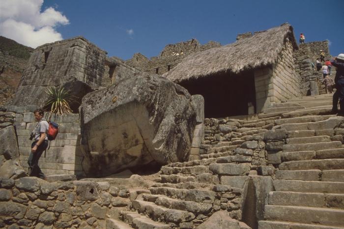 """Zeremonienbrunnen"", Machu Picchu, Peru"