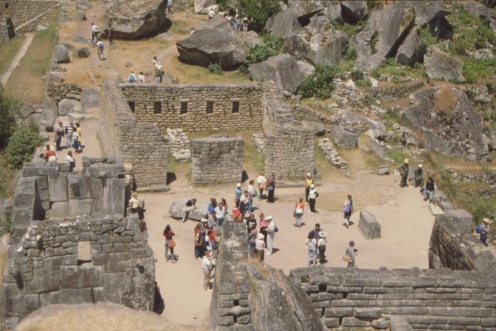 Tempelplatz, Machu Picchu, Peru