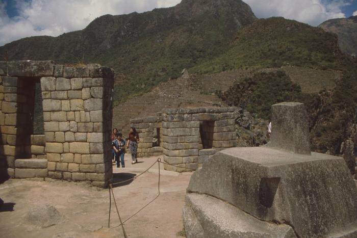 Tempelberg + Intihuatana, Machu Picchu, Peru