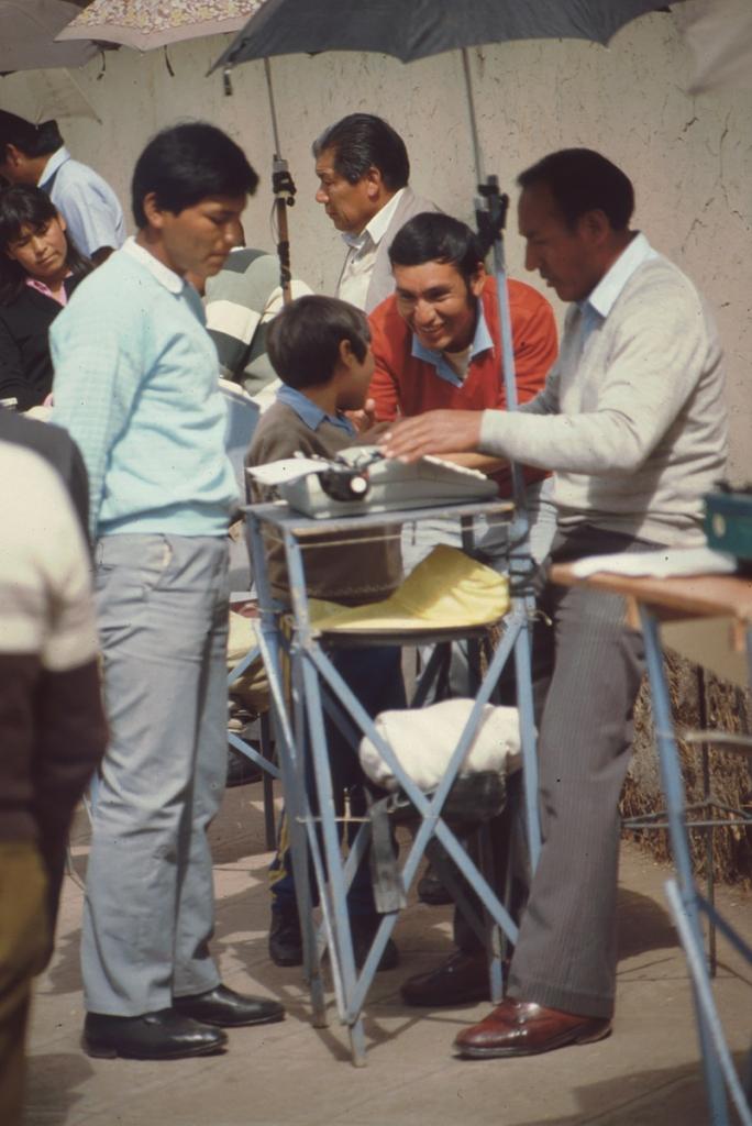 Schreiber, Calle Ayacucho, Cusco, Peru, 1989