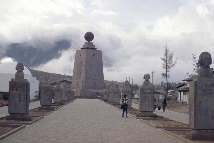 Äquatordenkmal bei Quito, Ecuador