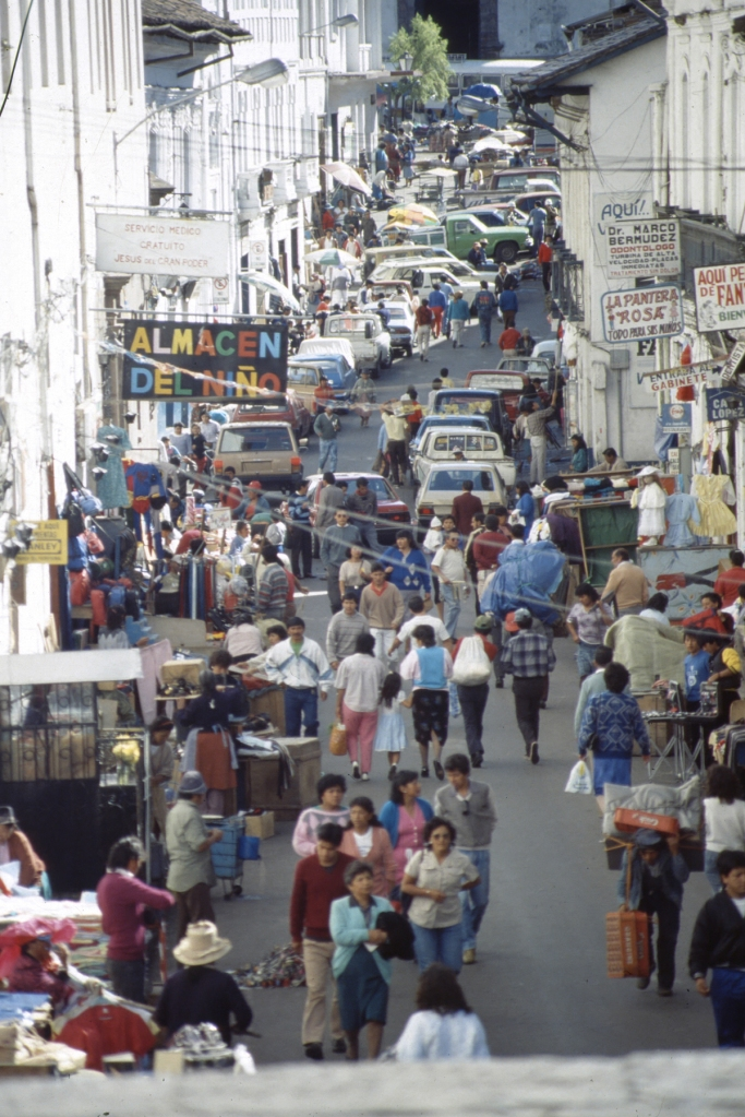 Altstadt Quito, Ecuador