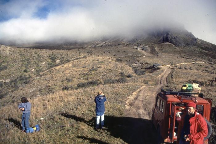 Vulkan Pichincha, 4794 m, Ecuador