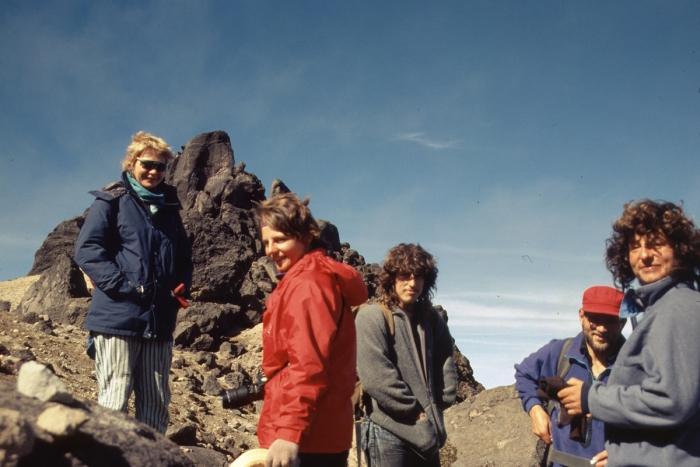 Vulkan Pichincha, internationale Seilschaft
